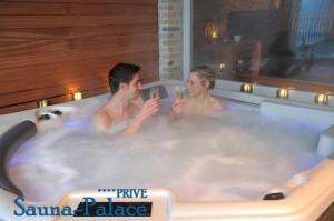 Sauna-Limburg jacuzzi genieten